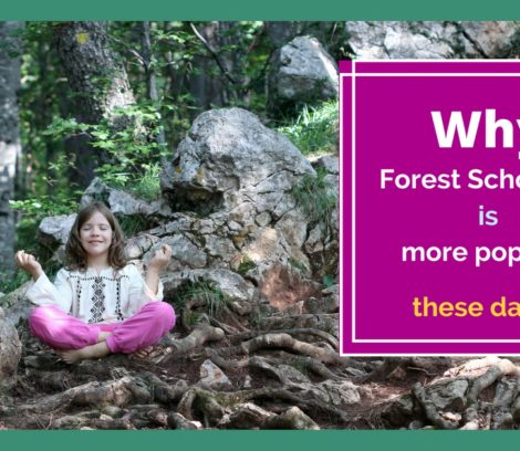 Why forest schooling is more popular these days?