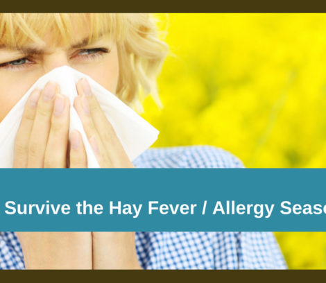 7 Tips How to Survive the Hay Fever/Allergy Season