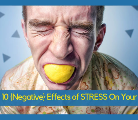 negative effects of stress on man eating unhealthy food