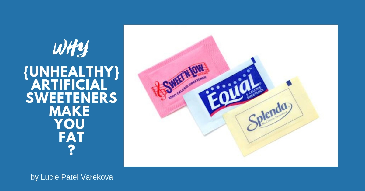 unhealthy artificial sweeteners, weight gain, imbalance in diet